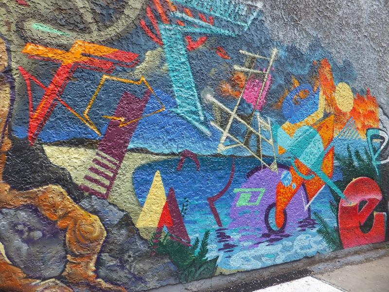 Street-Art, Canal-de-Lachine, Montréal, blog de viajes, Elisa N, Argentina