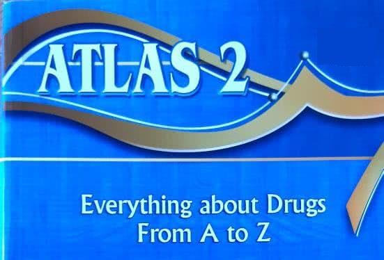 كتاب اطلس 2 للادوية pdf