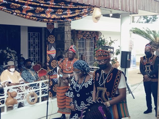Mafors, Traditional Rulers Pay Tribute to Late Achidi Achu, Urges Wife to Carry on