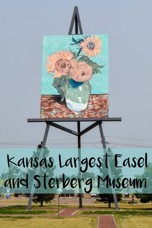 Kansas Largest Easel and Sternberg Museum
