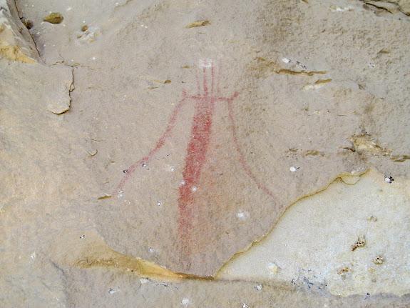 Spring Canyon pictograph