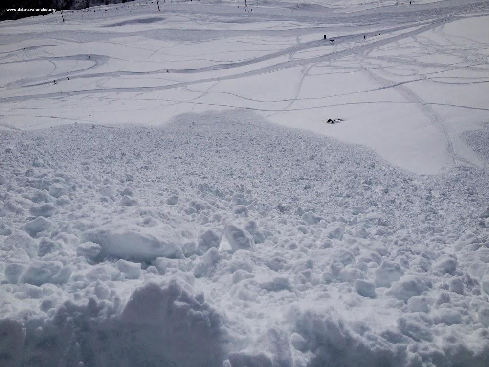 Avalanche Maurienne, secteur Les Karellis, Col de Charroute - Photo 1