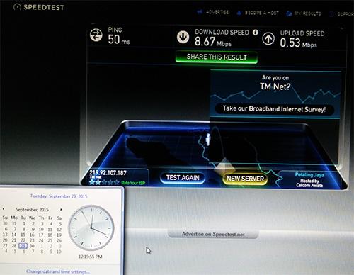 29-9-15 Speedtest.net