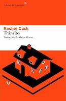 """Portada del libro """"Tránsito"""", de Rachel Cusk"""