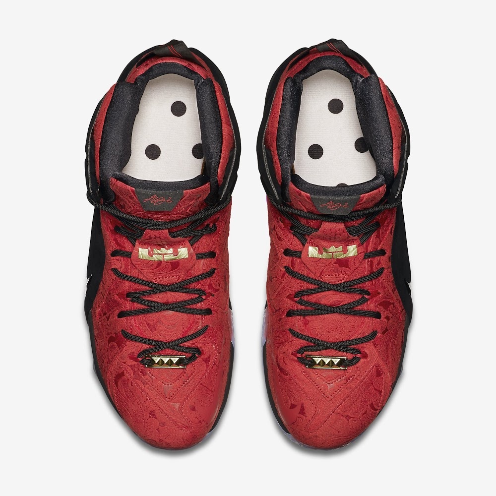 sports shoes bd600 e4c2d ... Release Reminder Nike LeBron XII 12 EXT Kings Cloak