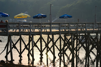 Photo: Wharf at the Contented Sole restaurant