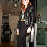 OIC - ENTSIMAGES.COM -  Ellie Bamber Attends  Hayden Kays: The Top Ten - private view British pop artist returns with his first solo exhibition of 2015, showcasing ten pieces from his celebrated typewriter series in London on the 2nd April 2015. Photo Mobis Photos/OIC 0203 174 1069