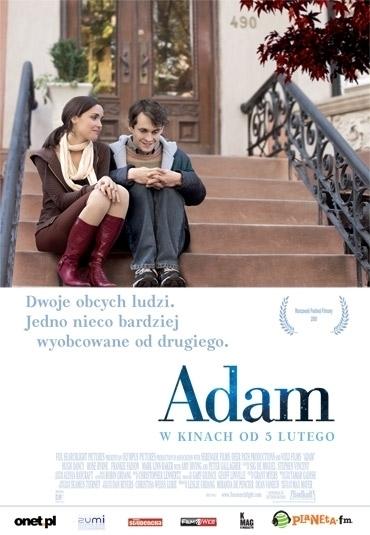 Polski plakat filmu 'Adam'