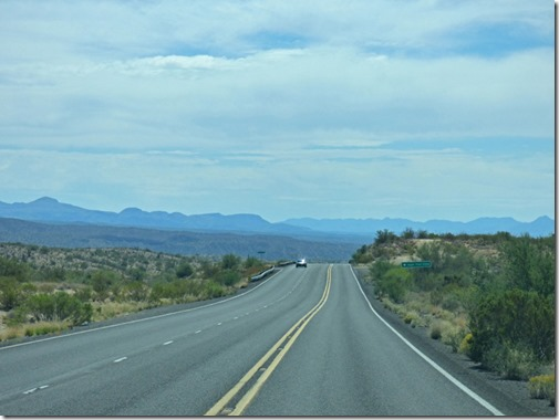 Heading South East from Lake Mead