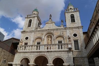 8-05/ L'église de Cana, village des fameuses noces.