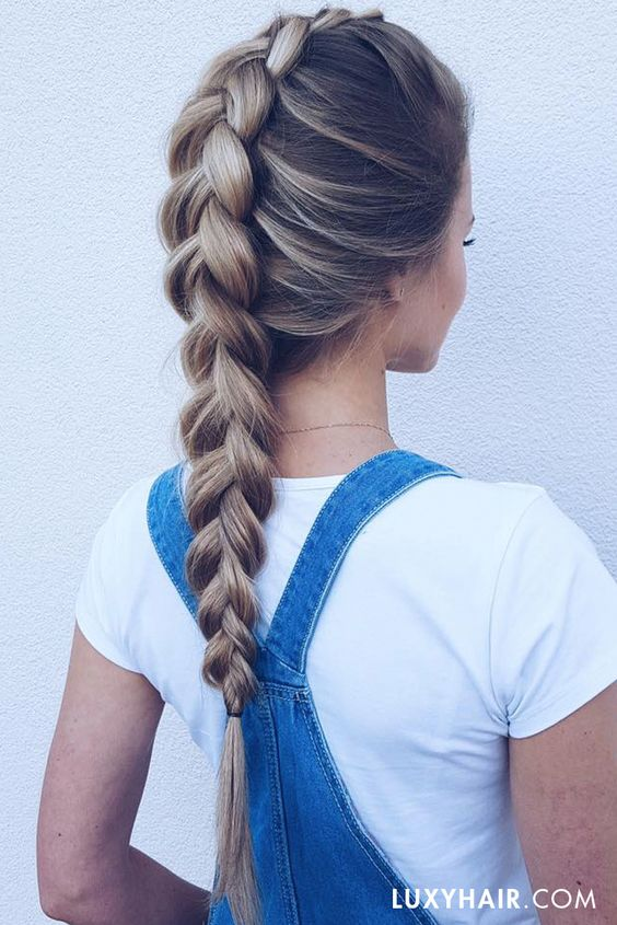 Braid Hairstyles A selection of your hairstyle To suit you 2017 9