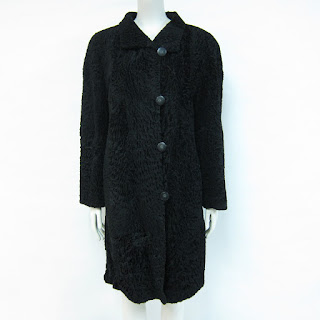 **Clearance**Afghan Lamb Fur Coat
