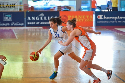 Basket - Nazionale Femminile, a Castel San Pietro (Bo) Italia-Olanda 58-50