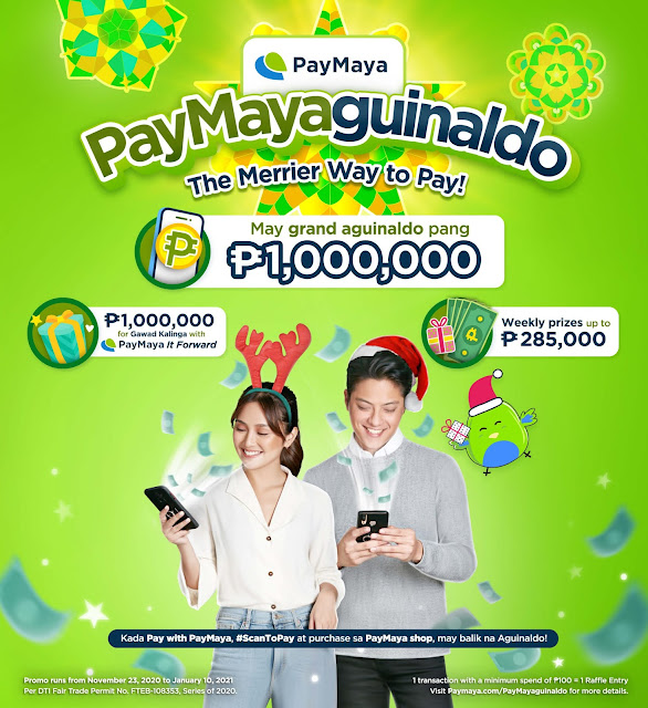 Patty Villegas - The Lifestyle Wanderer - Top 2020 Tech and Lifestyle Discoveries - Review - PayMaya - Invite Code - Paymayaguinaldo
