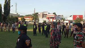 Siaga Pengamana Malam Takbir Wilayah Kecamatan sepatan