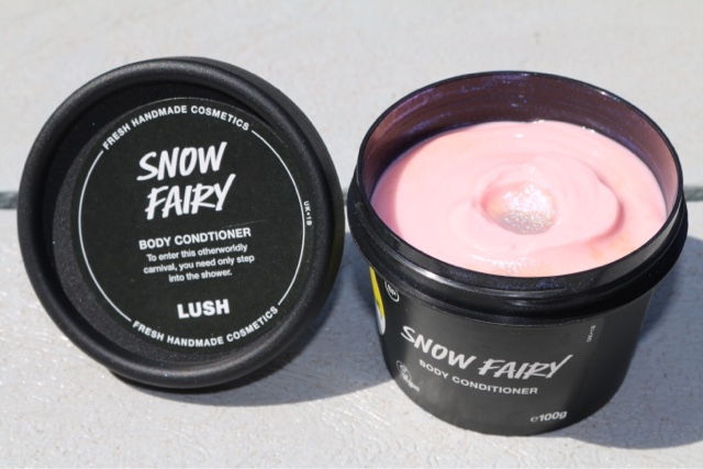 how to use snow fairy body conditioner