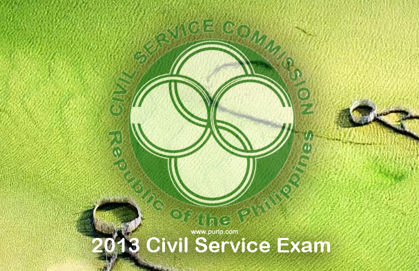 Pro and SubPro 2013 Civil Service Commission CSC Exam Schedule