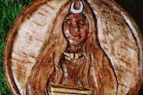 Celtic Goddess Of Plaque