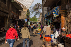 Street life in the Islamic part of Cairo...