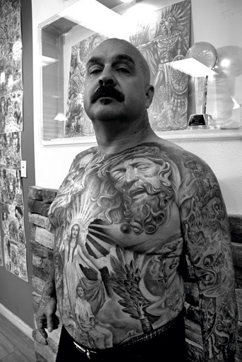 chest tattoo images for men