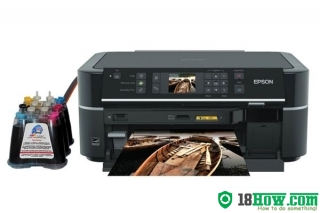 How to Reset Epson TX659 flashing lights error