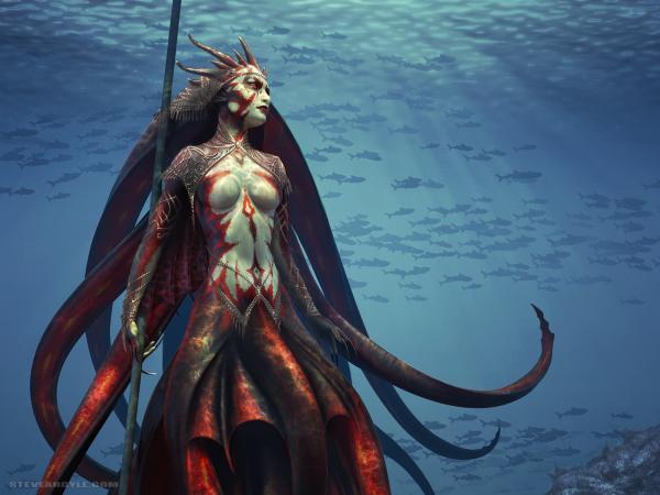 Goddess Of The Ocean, Goddesses