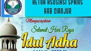Ketua Asosiasi SPAMS Kabupaten Cianjur Mengucapkan Selamat Idul Adha 1441 H-2020 M