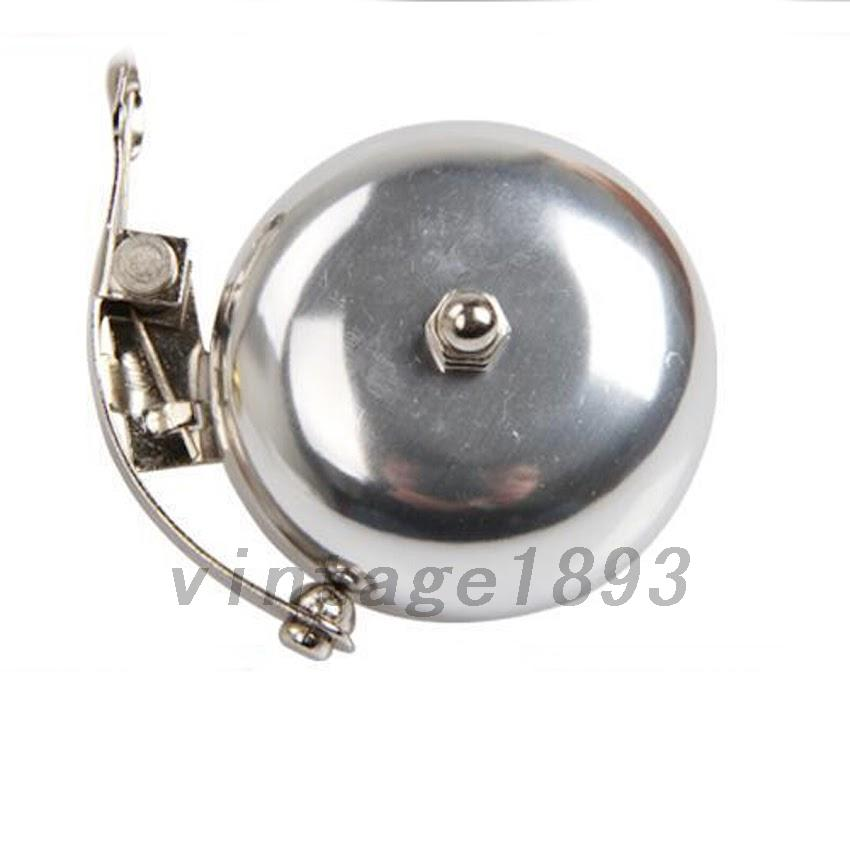 Vintage classic gold bike bicycle bell cap alarm cycling