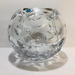 Tiffany & Co. Crystal Claus Josef Riedel Vase