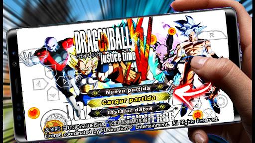 SAIU! DRAGON BALL  TENKAICHI TAG TEAM MOD JUSTICE TIME XENOVERSE 2 DBS TTT +MENU Para ANDROID PPSSPP