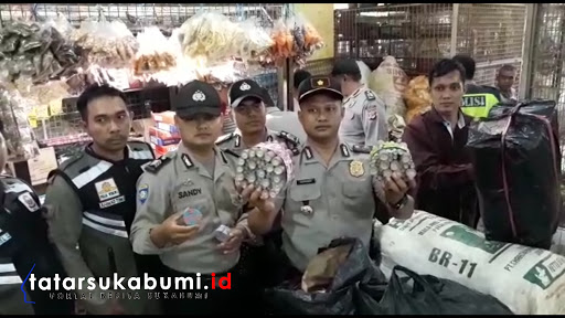 Rajia Polisi diwilayah Hukum Polsek Cibadak Polres Sukabumi // foto : Isep. Panji
