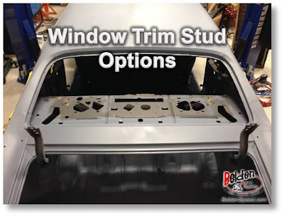 A Body Window Trim Clip Stud Options Belden Speed