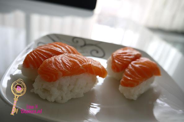 Sushi maken 10 Nigiri Sushi.JPG