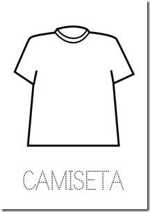 Camiseta ropa dibujos colorear pintaryjugar  (16)