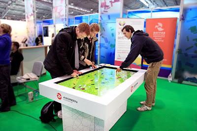 брендированный интерактивный стол