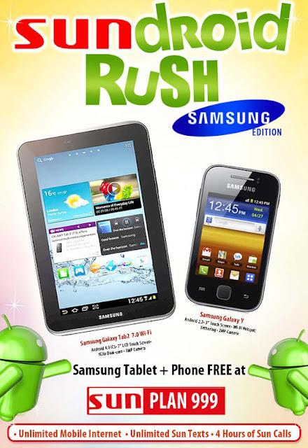 Sundroid Rush Samsung Edition Plan 999   Sundroid Rush