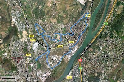 Semi-marathon de Grigny 18-10-2009
