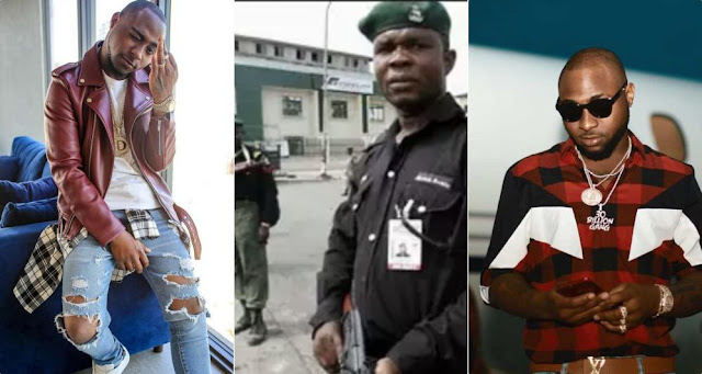 Davido's Mobile Police Escorts Nabs For Reckless Shooting In Lagos