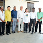 Solar Power Plant Innaguration at Senjeri Vidhyashramam by Lions Friends From France