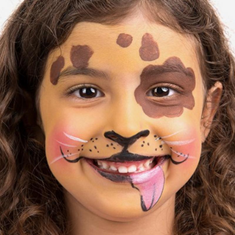 Cómo hacer un maquillaje de perro para niños