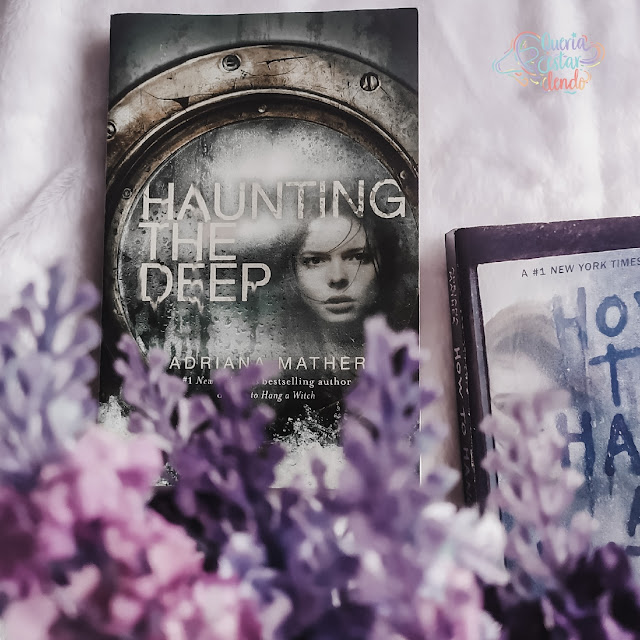 Resenha: Haunting the Deep - Adriana Mather