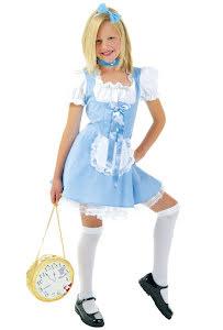 Dräkt, klänning ljusblå