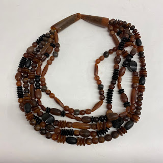 Attributed To Catherine Knoll Beaded 5-Strand Necklace