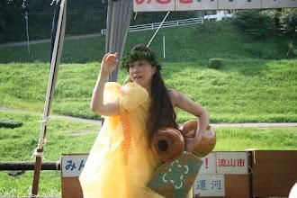 Photo: ハラウフラナポマコレの田瀬りささん(東深井)