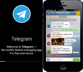 Fast and secure messaging app