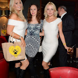 WWW.ENTSIMAGES.COM -    K-9 Angels Victoria Eisermann, Marzena Rychlik and Pola   at   K-9 Angels Exclusive launch of BBK-9 Limited Edition Boots raising funds to help dogs all around the world at Beaufort House Chelsea October 16th 2014                                              Photo Mobis Photos/OIC 0203 174 1069
