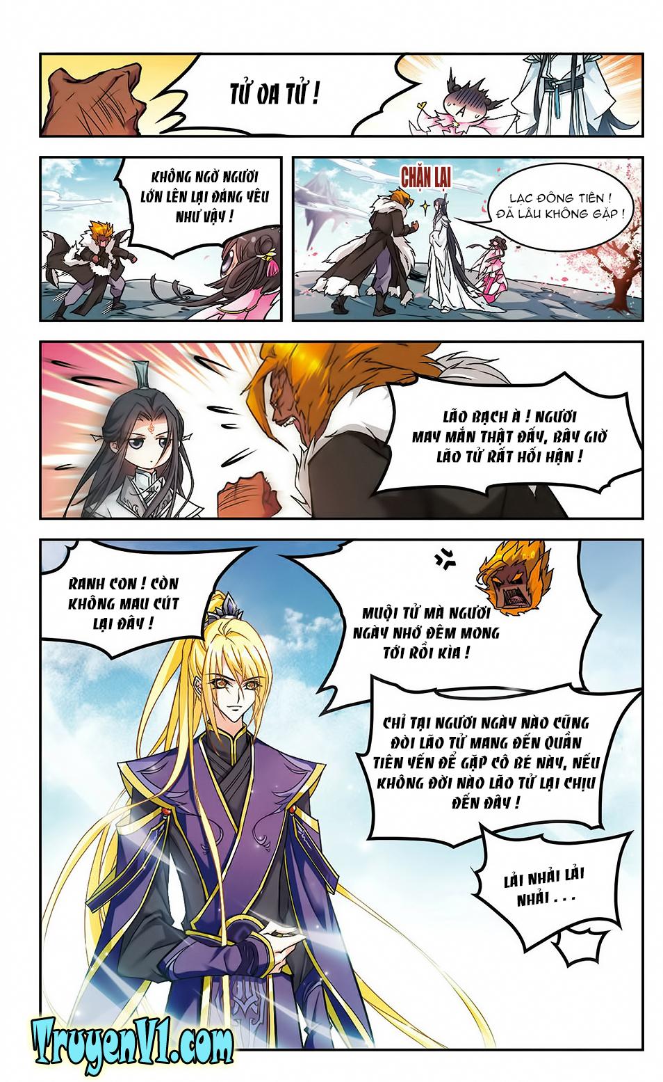 Hoa Thiên Cốt Chap 107 - Trang 10