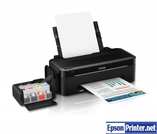 Reset Epson ME-82WD inkjet printer by tool