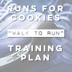 A training plan to go from walking to running
