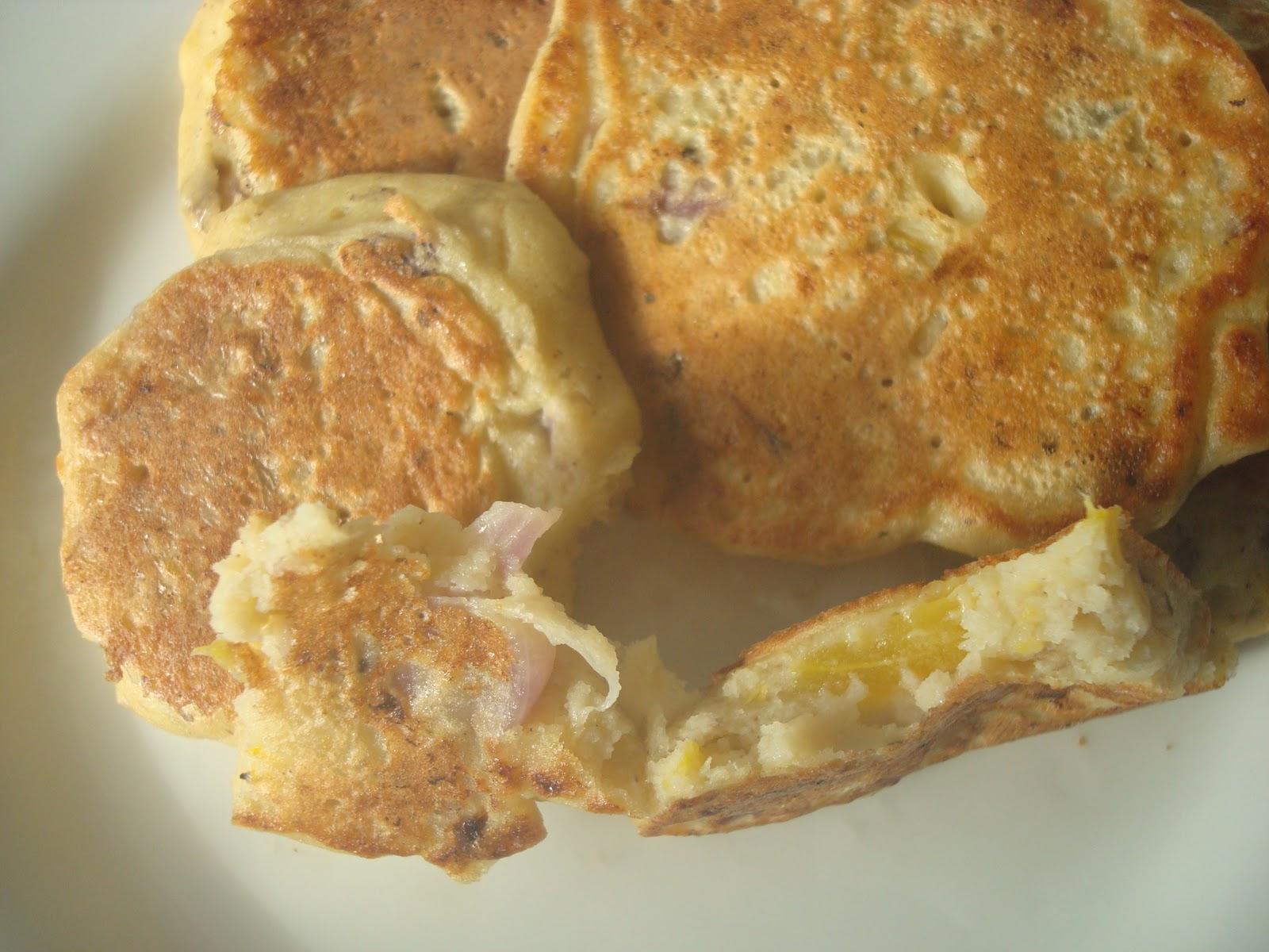 Savoury Tofu Drop Scones   Christine eats gluten-free and vegan